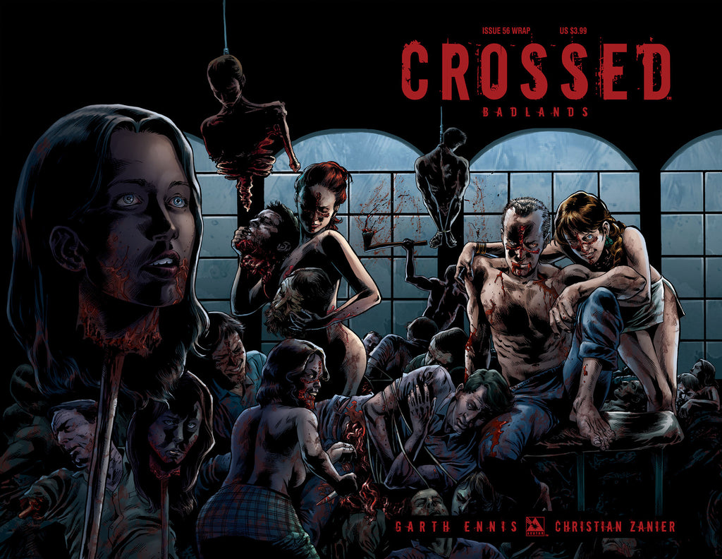 CROSSED: BADLANDS #56 Wraparound
