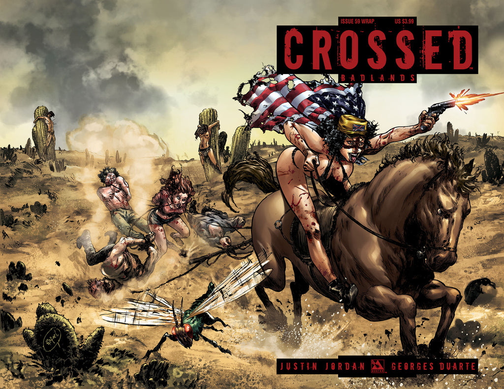 CROSSED: BADLANDS #59 Wraparound