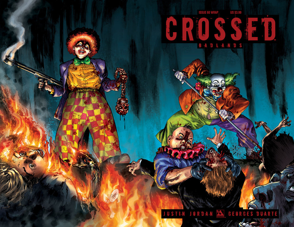 CROSSED: BADLANDS #60 Wraparound