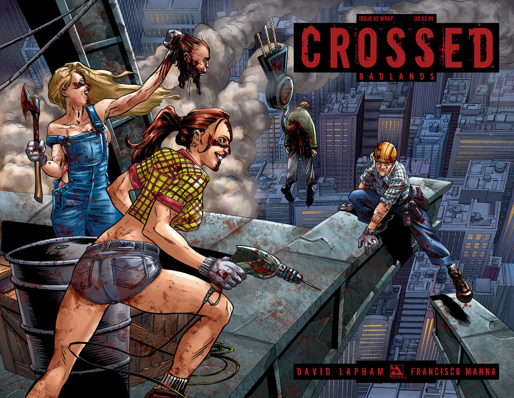 CROSSED: BADLANDS #62 Wraparound