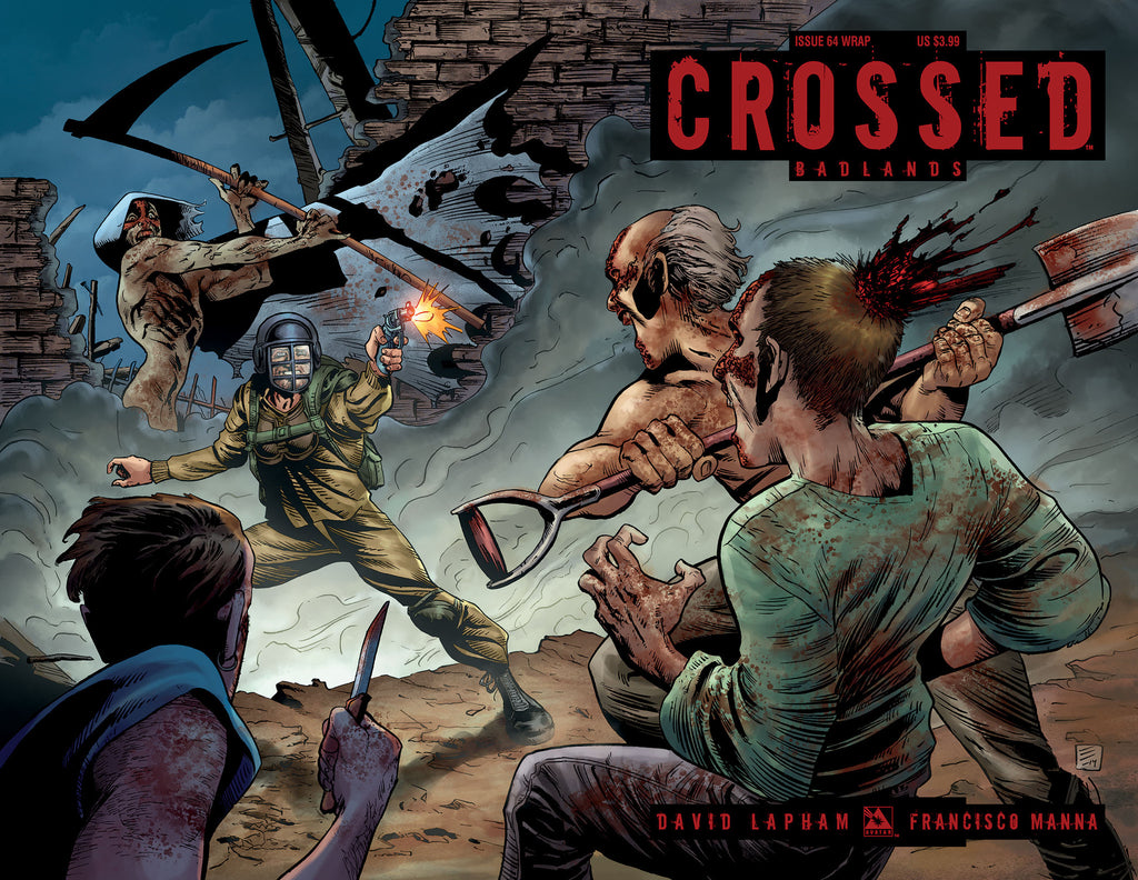CROSSED: BADLANDS #64 Wraparound