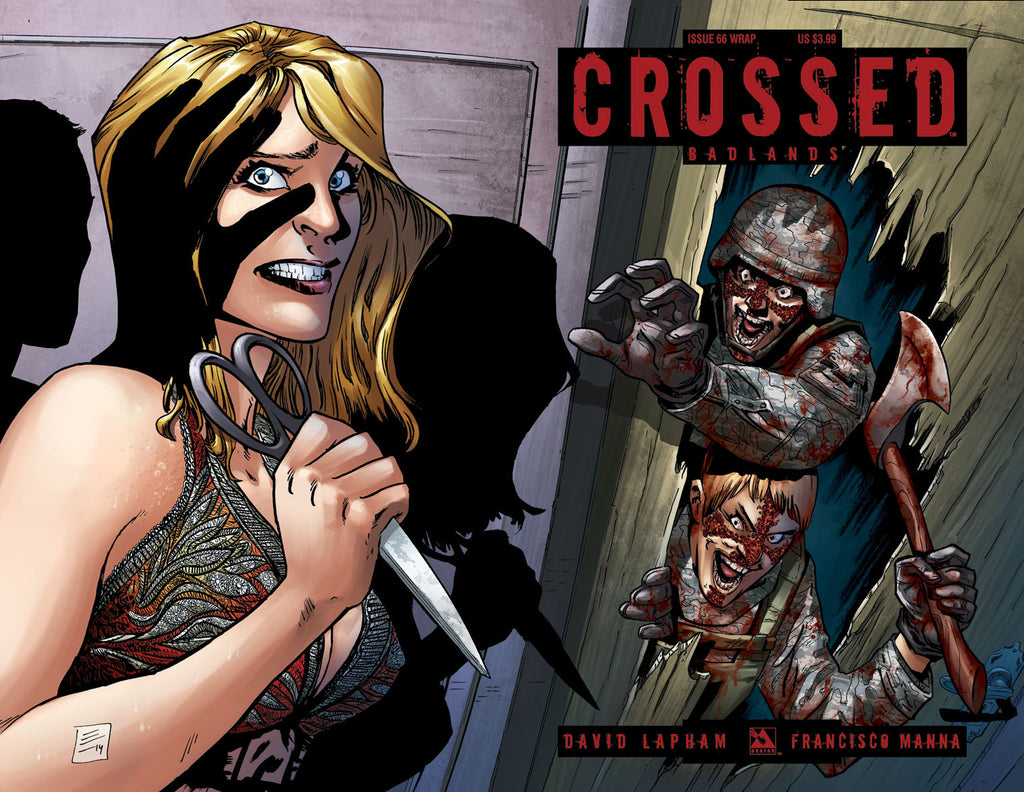 CROSSED: BADLANDS #66 Wraparound
