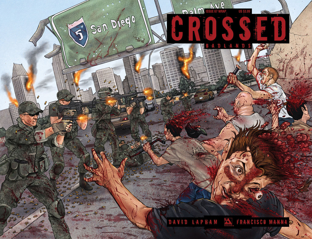 CROSSED: BADLANDS #67 Wraparound