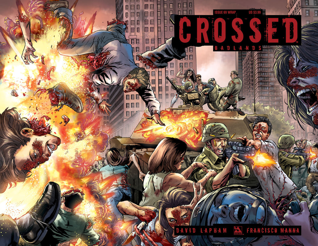 CROSSED: BADLANDS #69 Wraparound