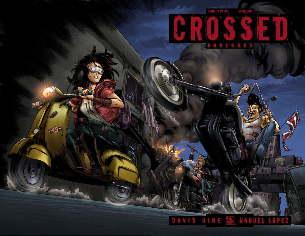 CROSSED: BADLANDS #71 Wraparound