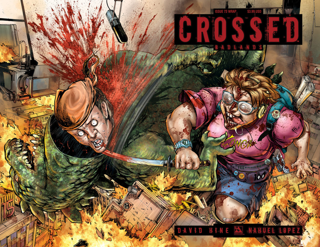 CROSSED: BADLANDS #73 Wraparound