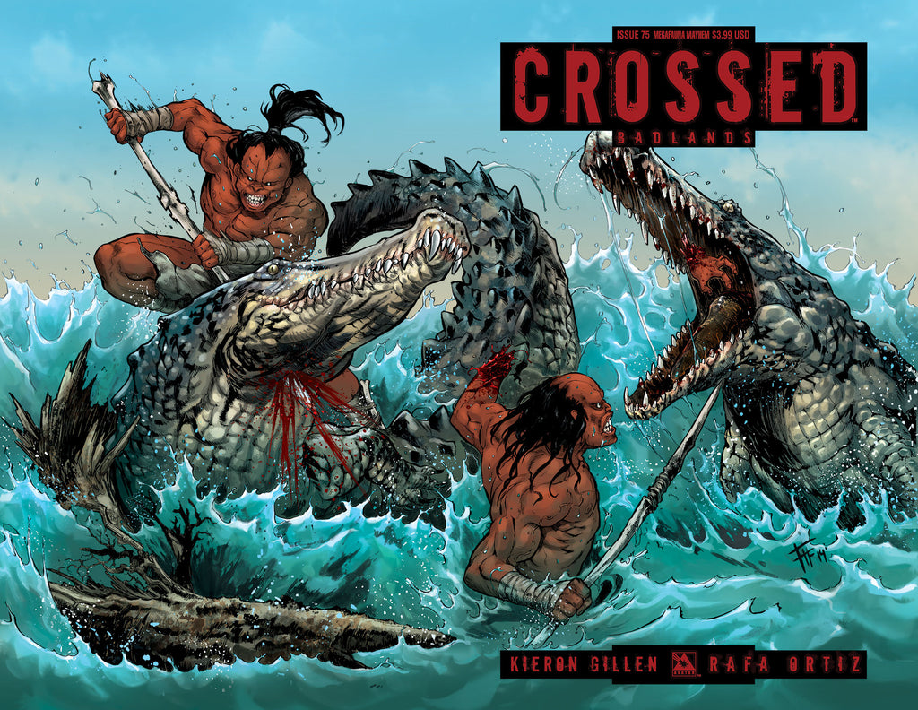CROSSED: BADLANDS #75 Megafauna Mayhem