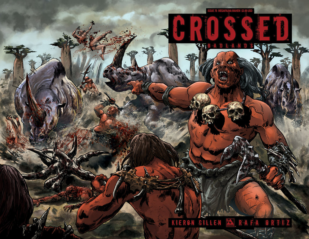 CROSSED: BADLANDS #76 Megafauna Mayhem