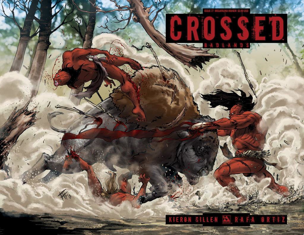 CROSSED: BADLANDS #77 Megafauna Mayhem
