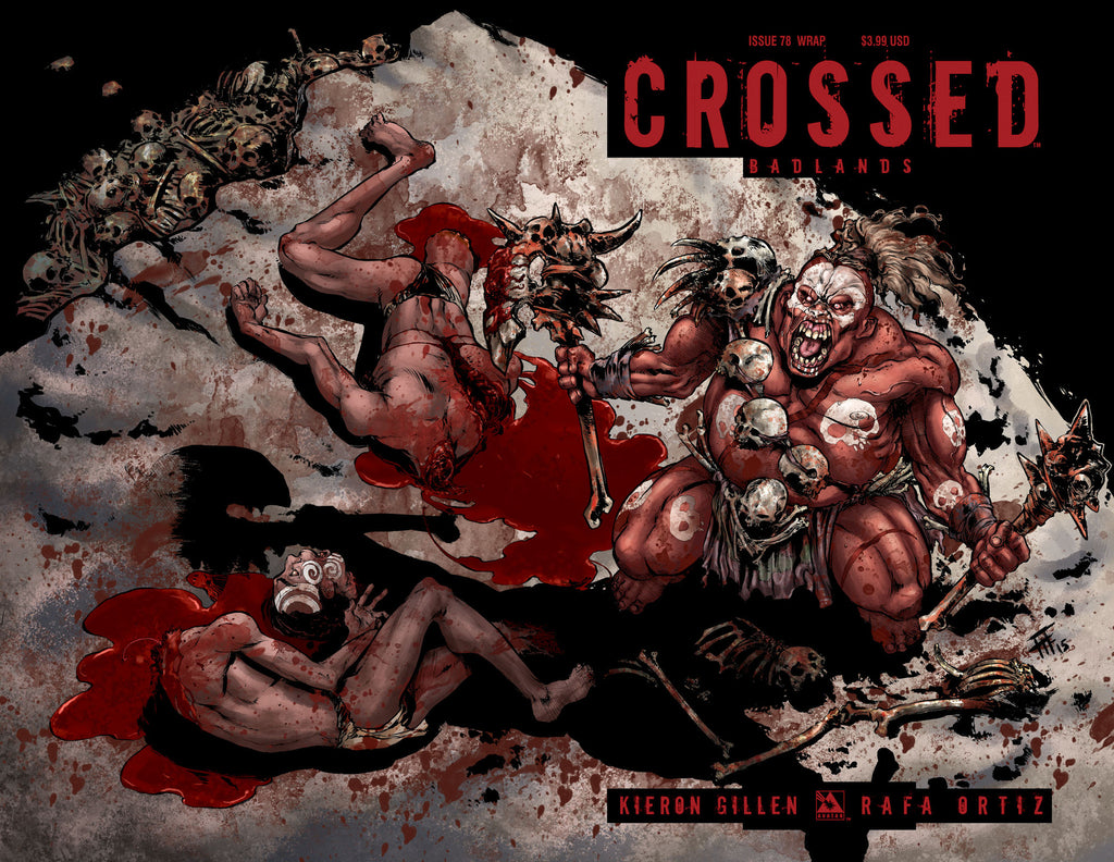 CROSSED: BADLANDS #78 Wraparound