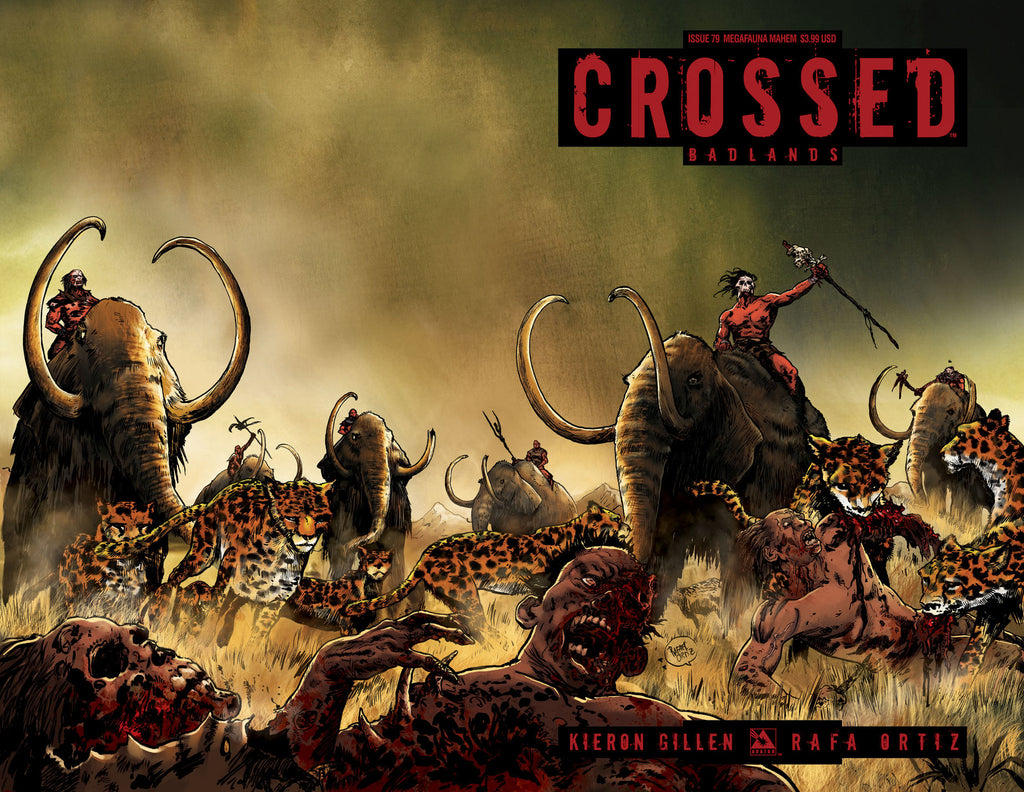 CROSSED: BADLANDS #79 Megafauna Mayhem