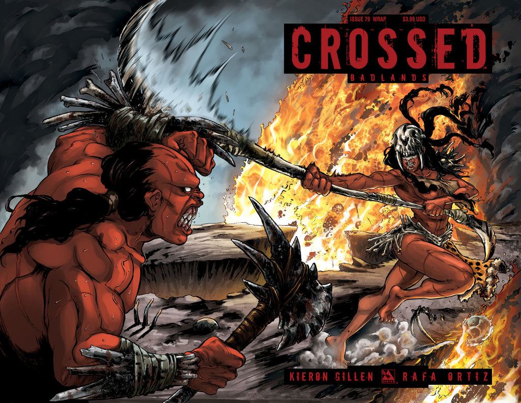 CROSSED: BADLANDS #79 Wraparound