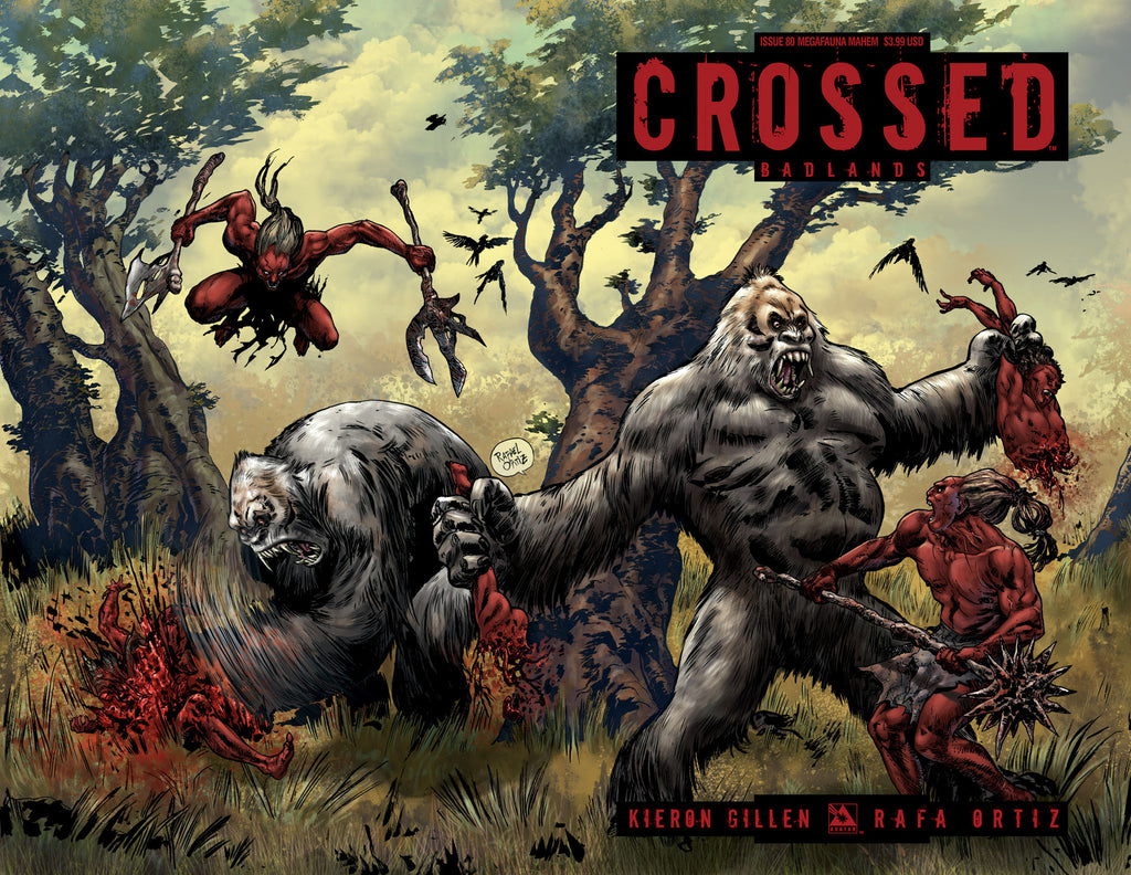 CROSSED: BADLANDS #80 Megafauna Mayhem