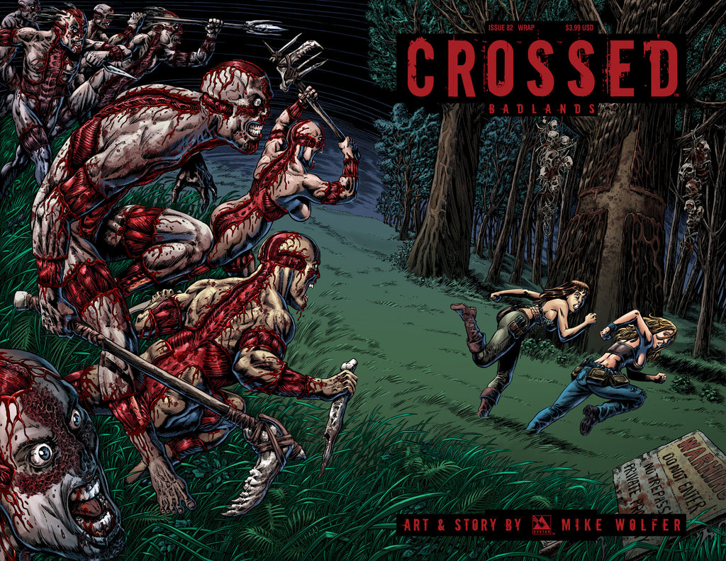CROSSED: BADLANDS #82 Wraparound