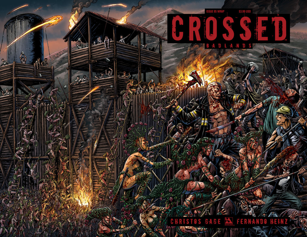 CROSSED: BADLANDS #95 Wraparound