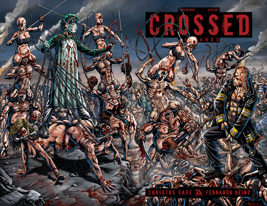CROSSED: BADLANDS #96 Wraparound