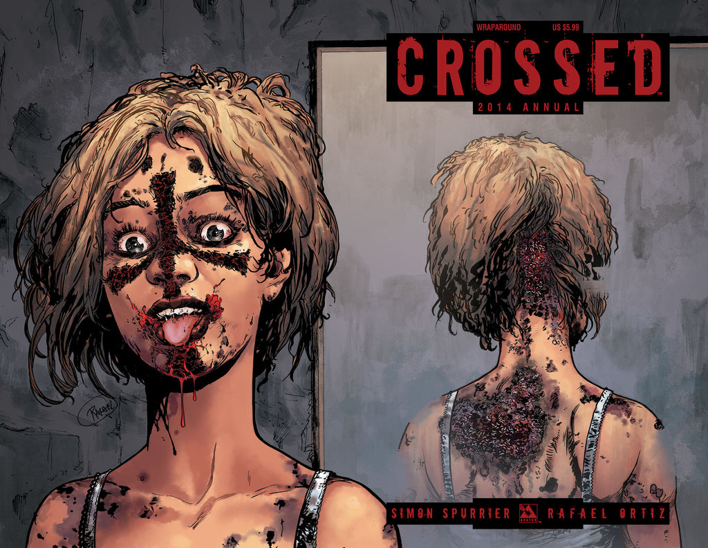 CROSSED ANNUAL 2014 WRAPAROUND COVER
