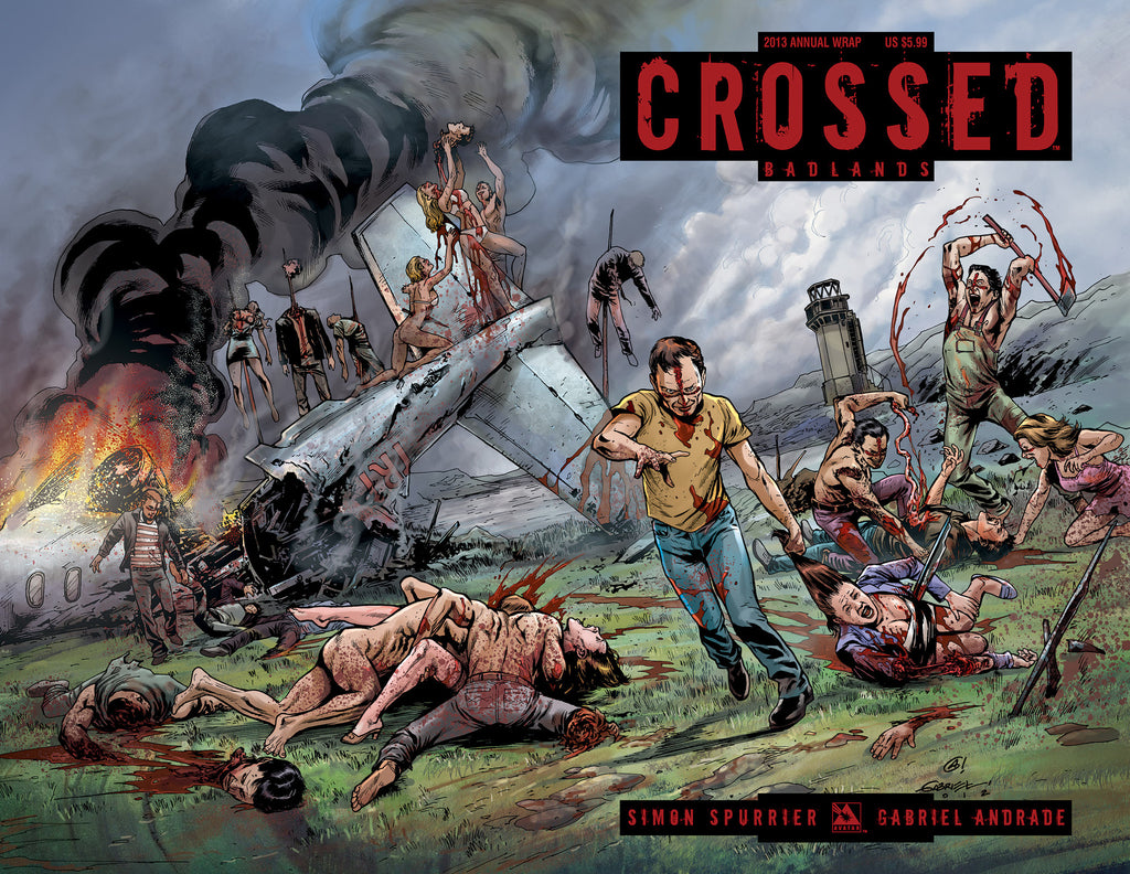 CROSSED ANNUAL 2013 WRAPAROUND