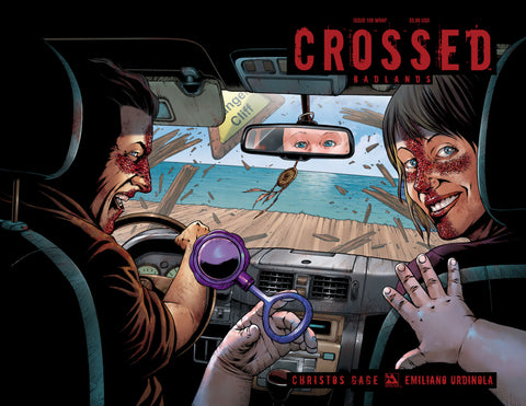 CROSSED: BADLANDS #100 Wraparound