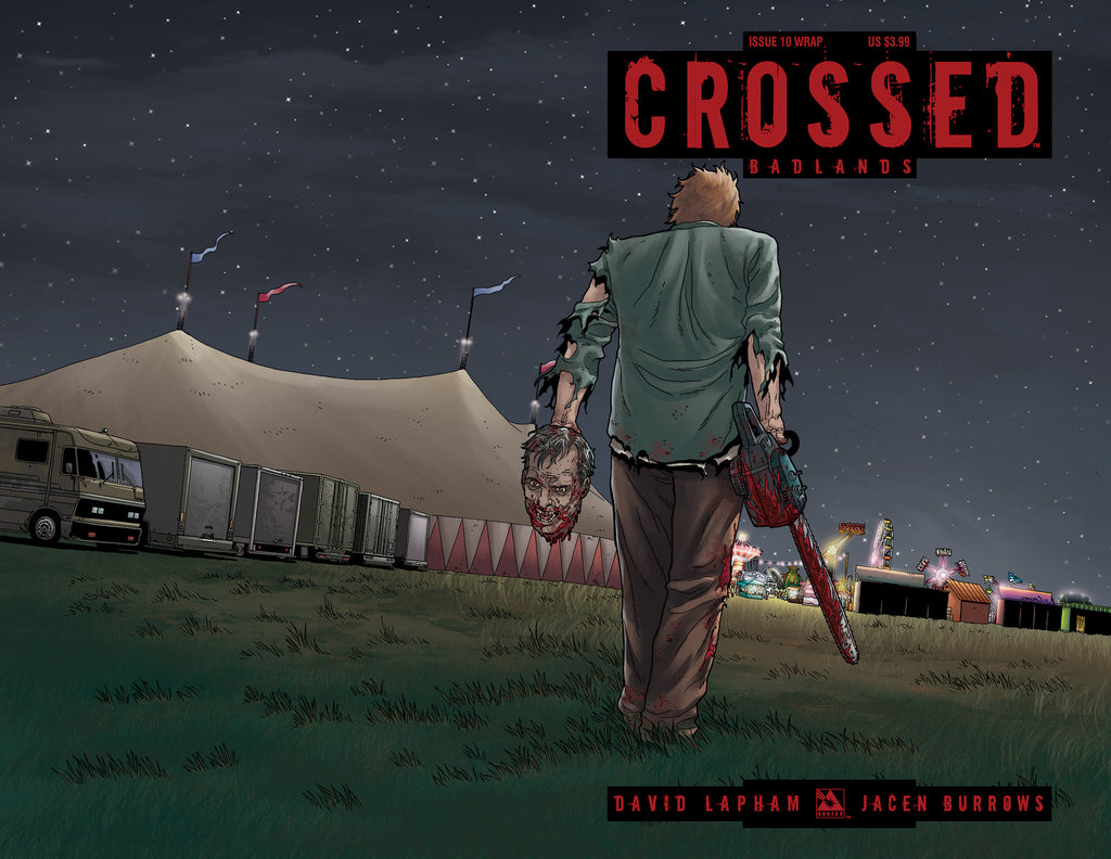 CROSSED: BADLANDS #10 WRAPAROUND