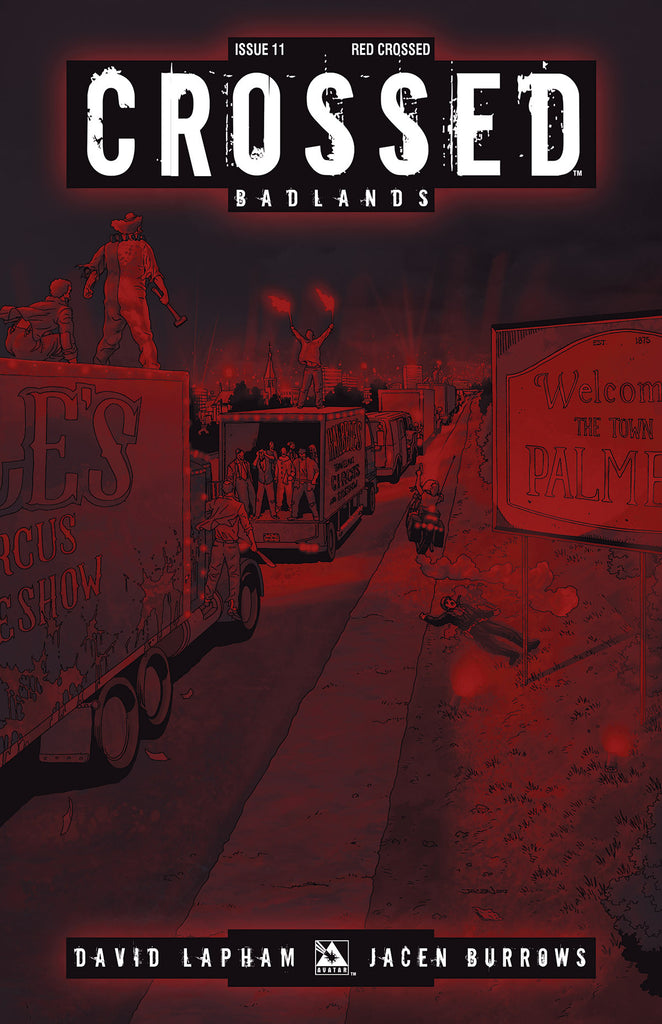 CROSSED: BADLANDS #11 RED CROSSED ORDER INCV CVR