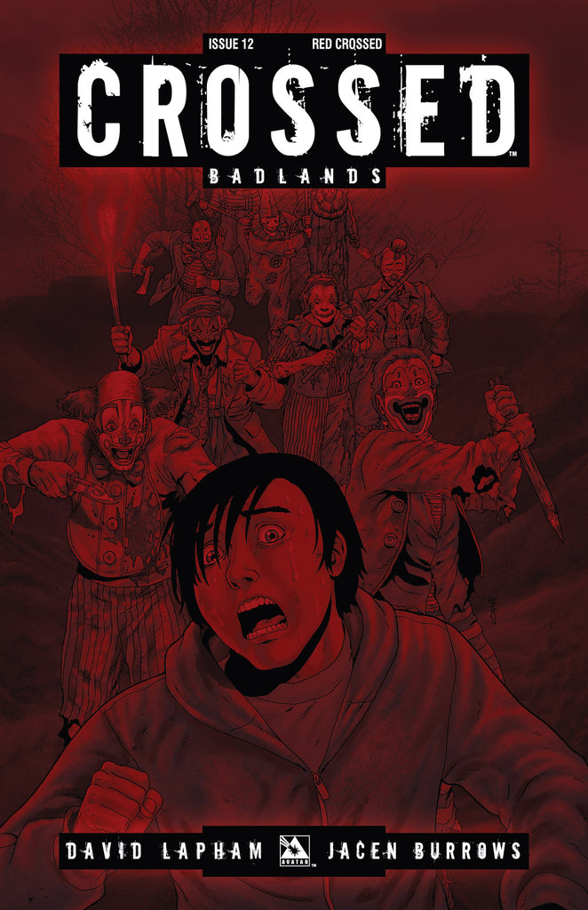 CROSSED: BADLANDS #12 RED CROSSED ORDER INCV CVR