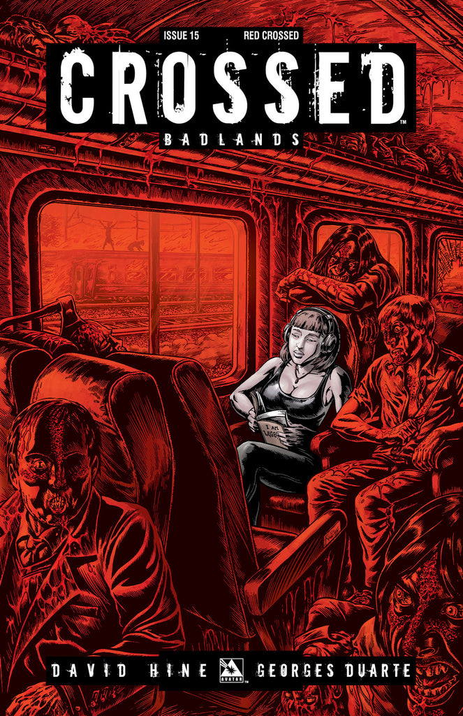 CROSSED: BADLANDS #15 RED CROSSED ORDER INCV CVR