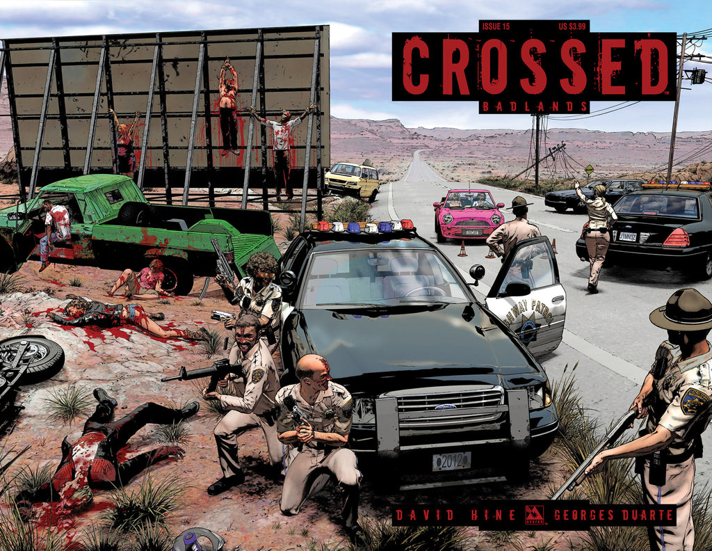 CROSSED: BADLANDS #15 WRAPAROUND