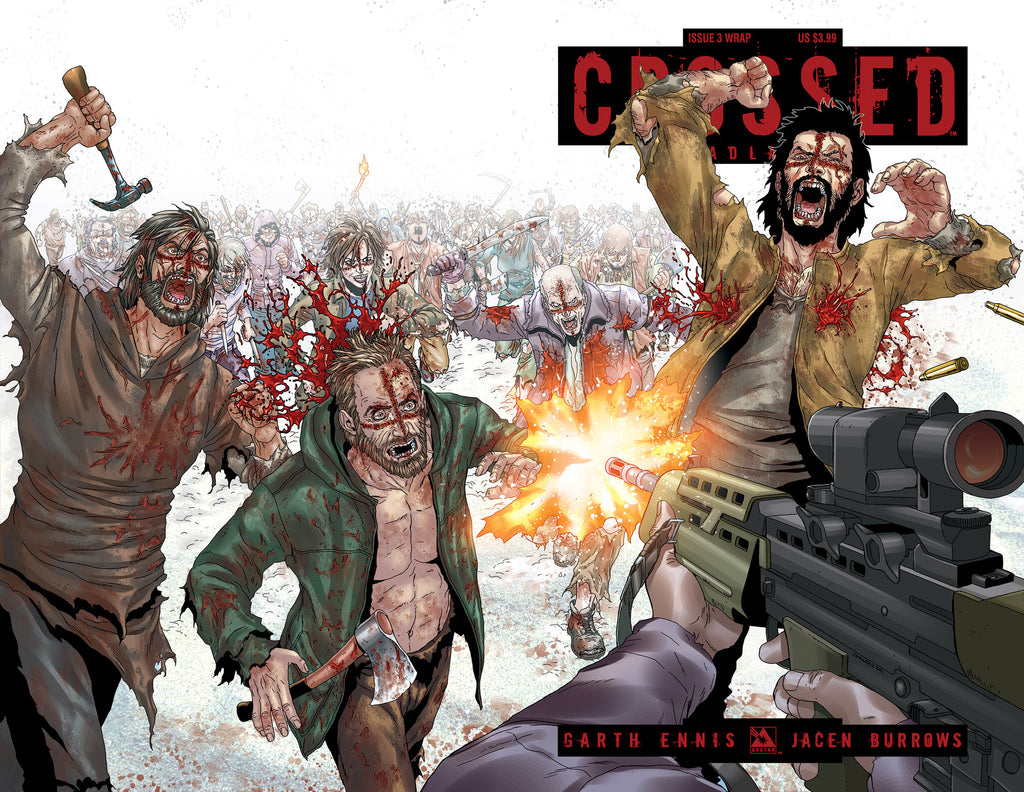 CROSSED: BADLANDS #3 WRAPAROUND CVR