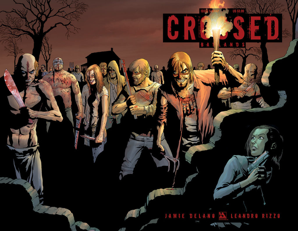CROSSED: BADLANDS #5 WRAPAROUND