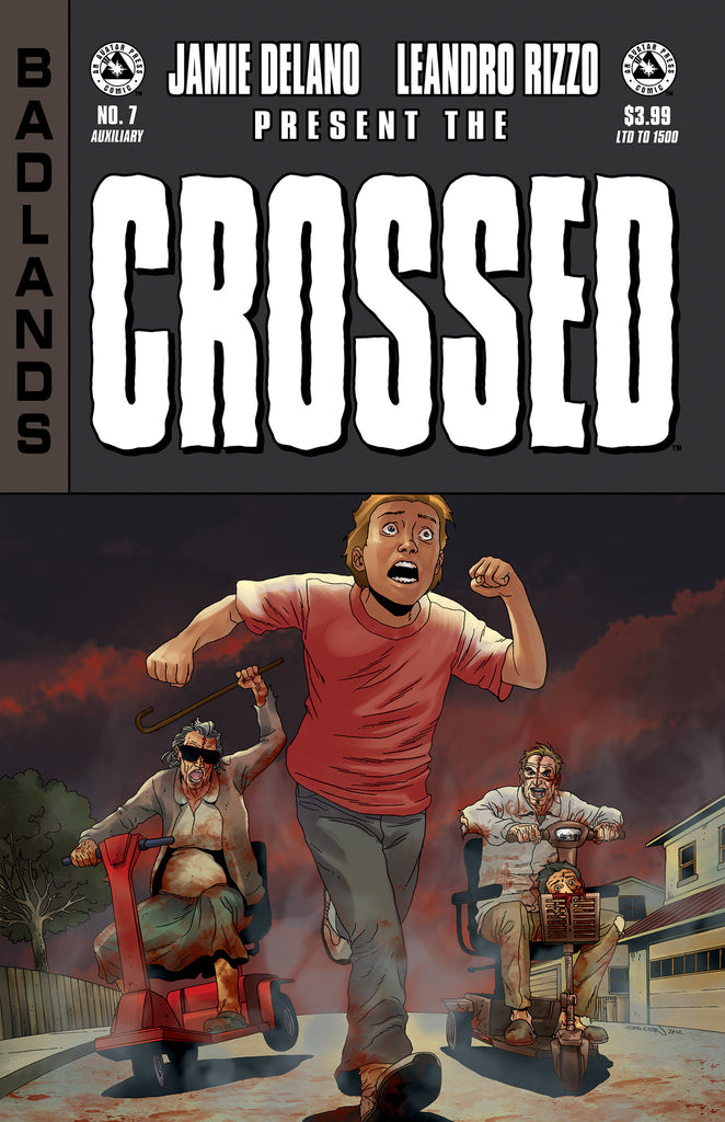 CROSSED: BADLANDS #7 AUXILIARY ED