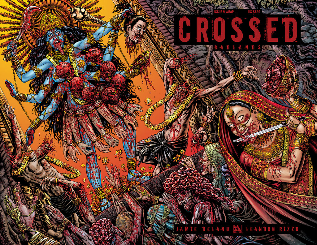 CROSSED: BADLANDS #9 WRAPAROUND