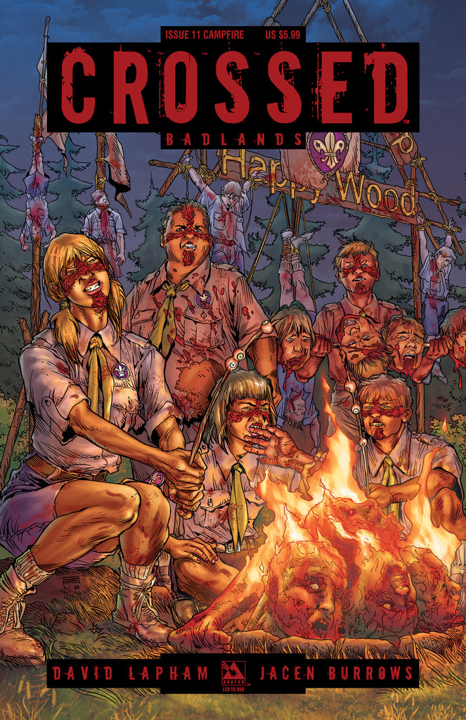 CROSSED: BADLANDS #11 CAMPFIRE CVR