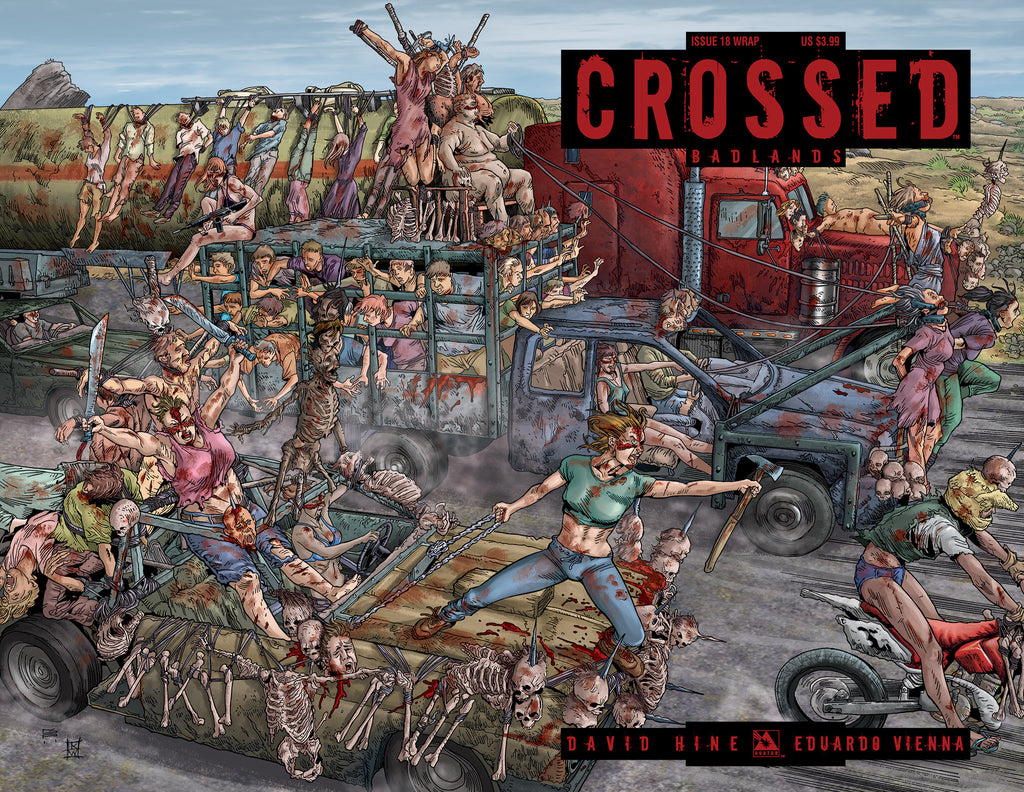 CROSSED: BADLANDS #18 WRAPAROUND