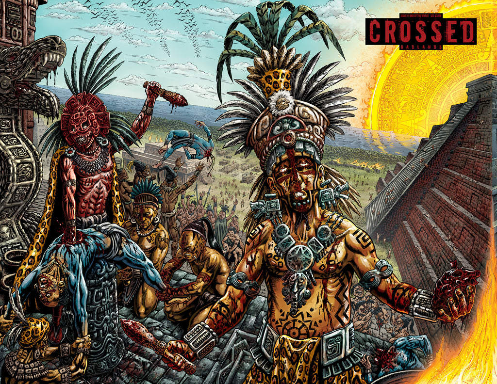 CROSSED: BADLANDS #19 END OF THE WORLD CVR A