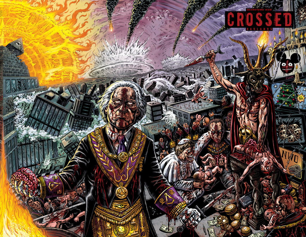 CROSSED: BADLANDS #20 END OF THE WORLD CVR B