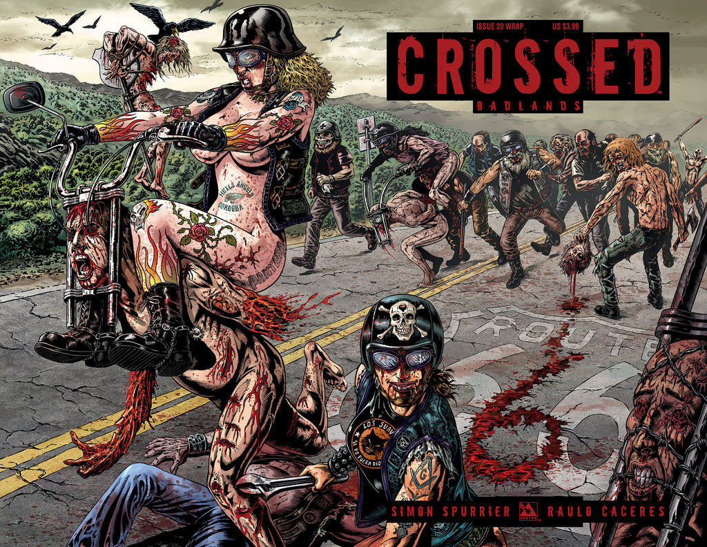 CROSSED: BADLANDS #20 WRAPAROUND