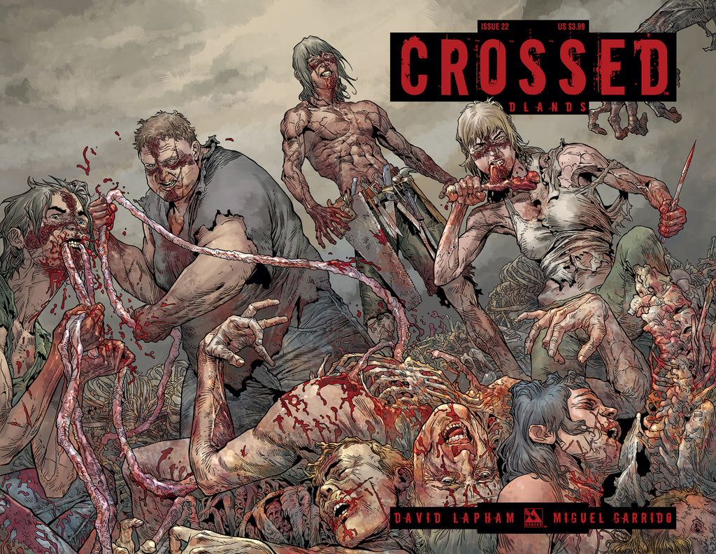 CROSSED: BADLANDS #22 WRAPAROUND
