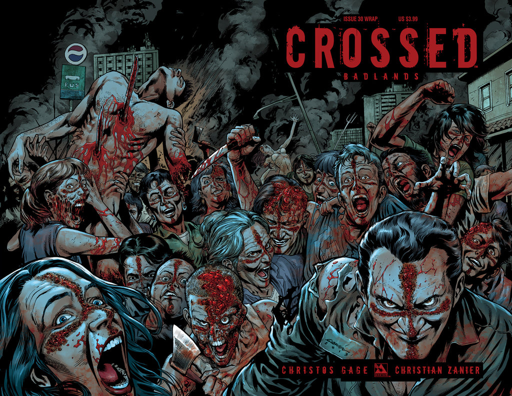 CROSSED: BADLANDS #30 WRAPAROUND
