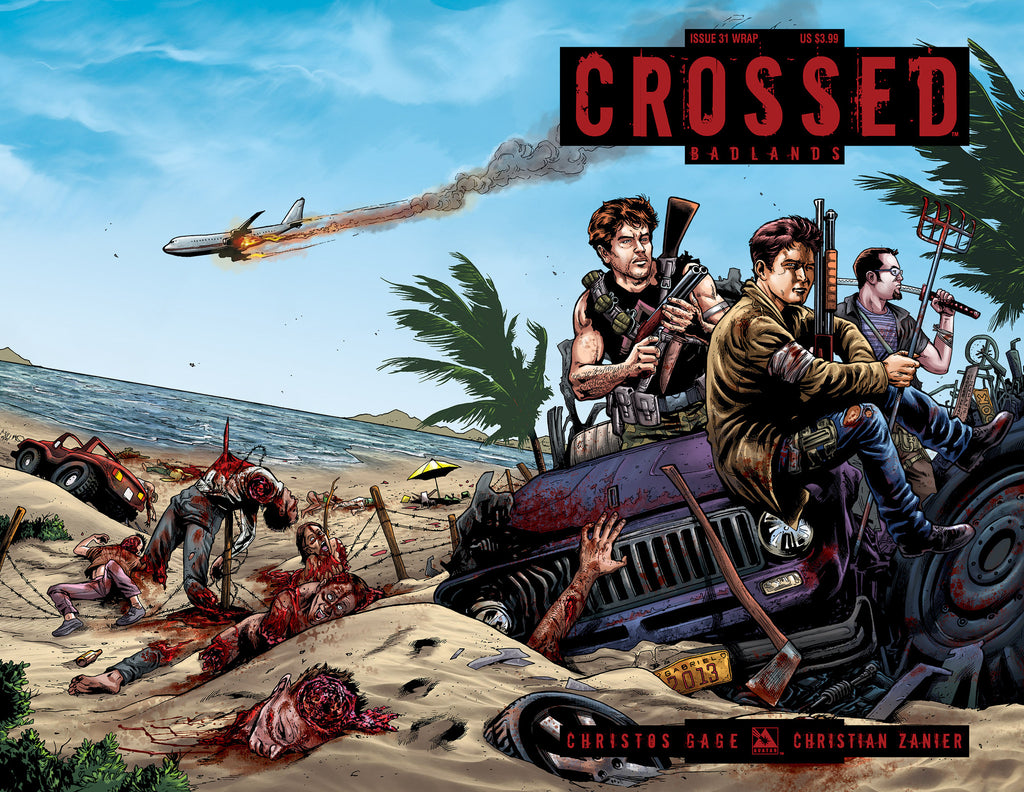 CROSSED: BADLANDS #31 WRAPAROUND COVER