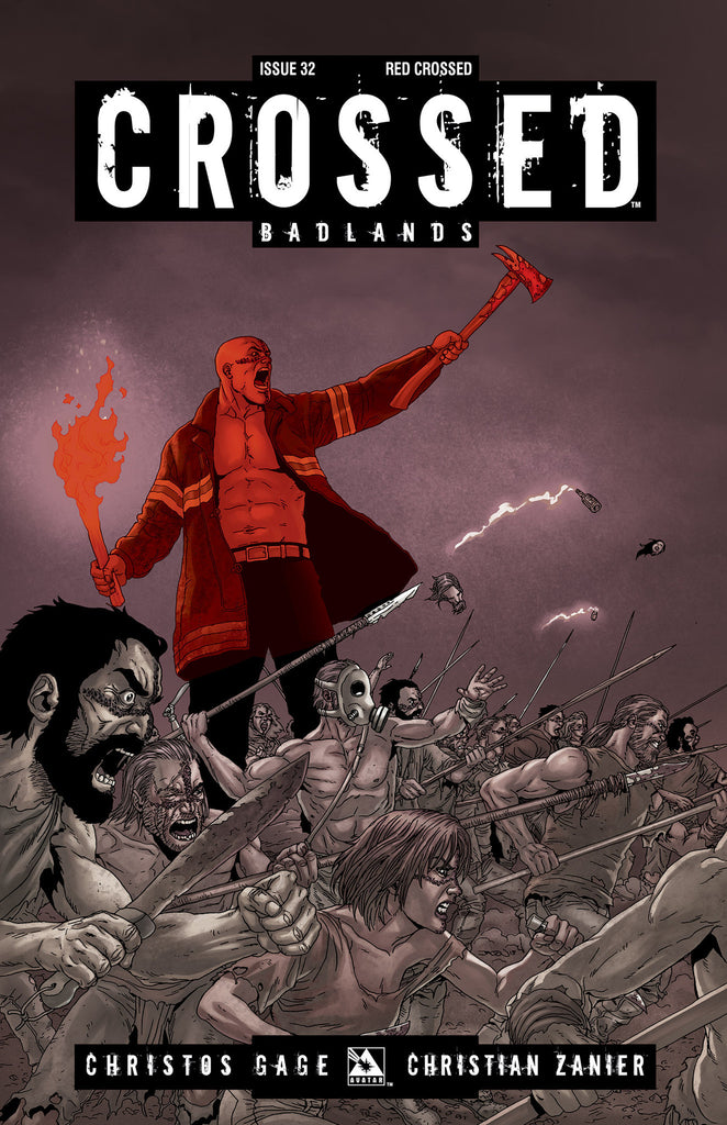 CROSSED: BADLANDS #32 - Digital Copy