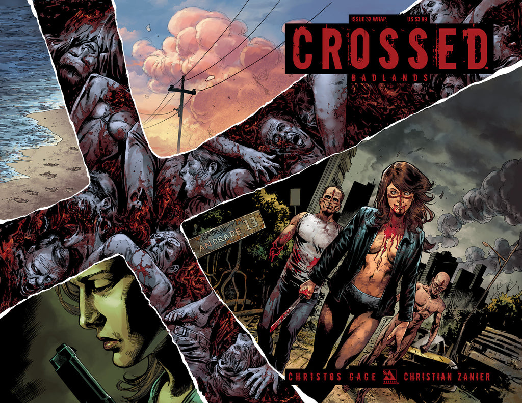 CROSSED: BADLANDS #32 WRAPAROUND