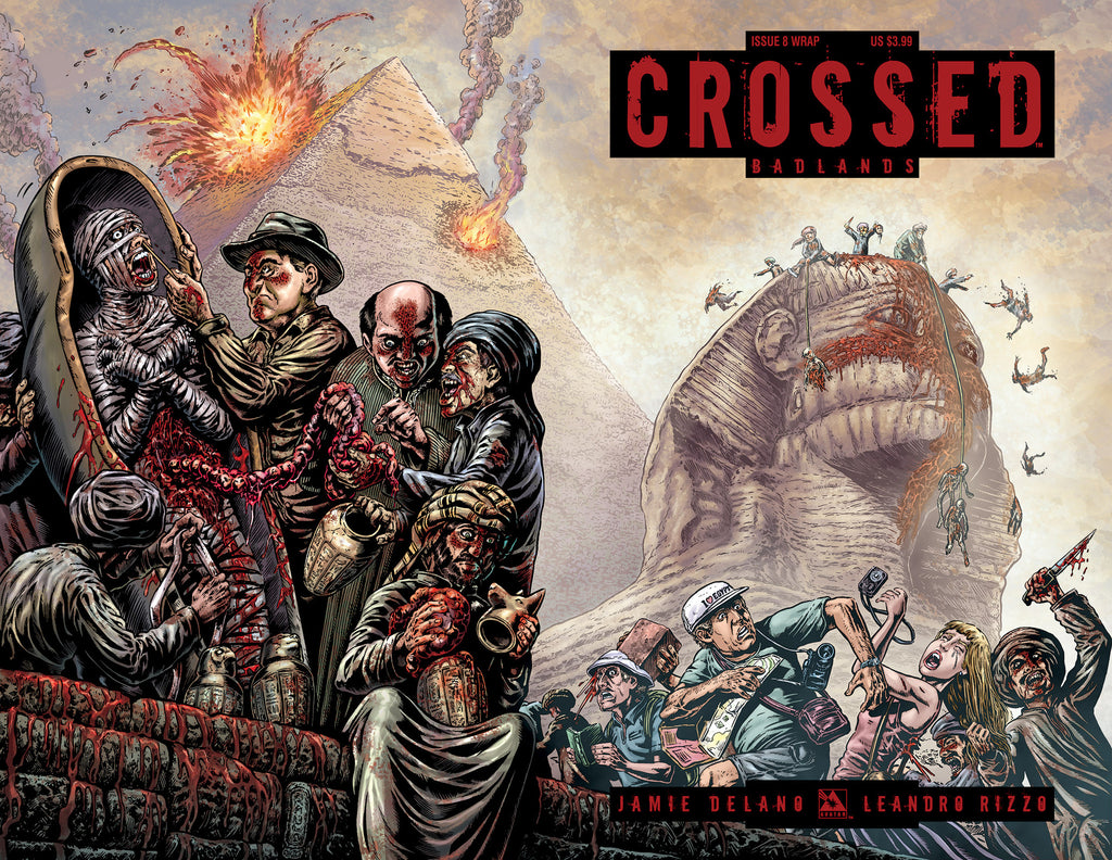 CROSSED: BADLANDS #8 WRAPAROUND