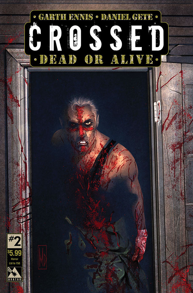 CROSSED: DEAD OR ALIVE #2 Horror