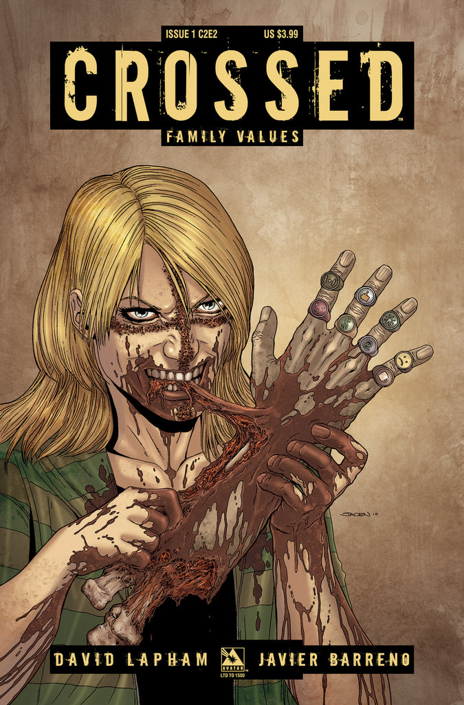 CROSSED: Family Values #1 C2E2