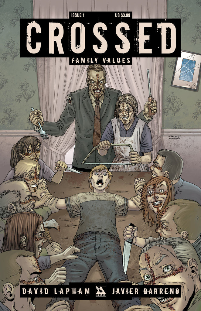 CROSSED: Family Values #1 - Digital Copy