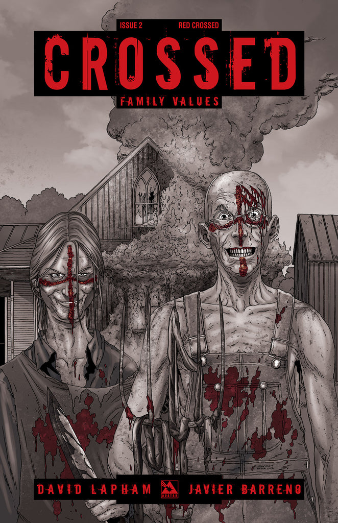 CROSSED: Family Values #2 Red Crossed order incentive