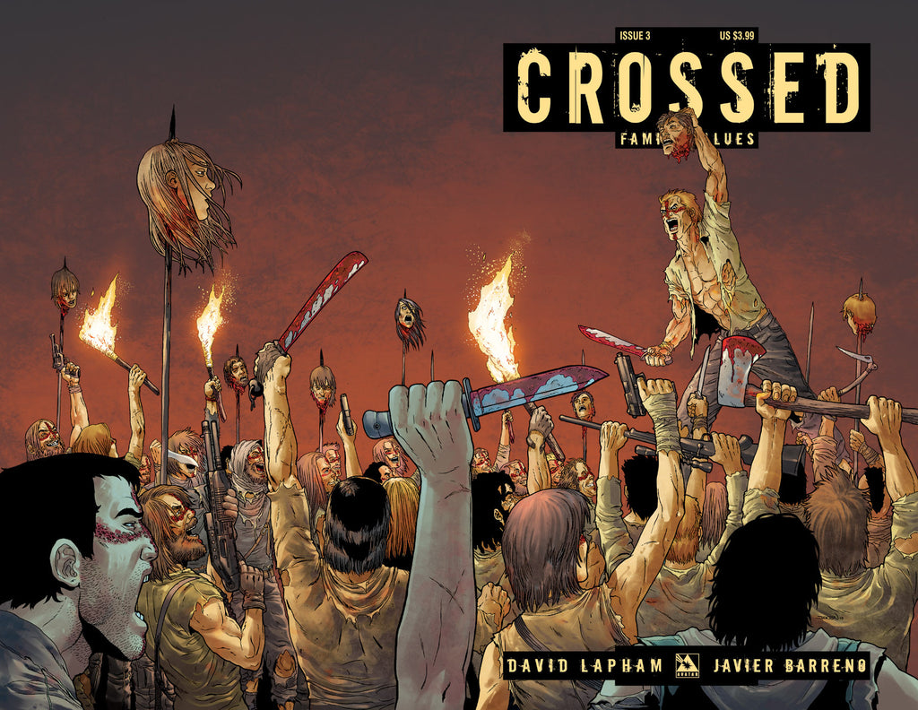CROSSED: Family Values #3 Wraparound