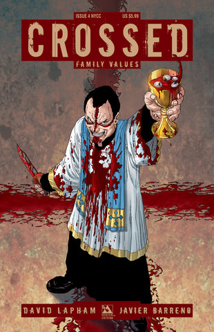 CROSSED: Family Values #4 NYCC