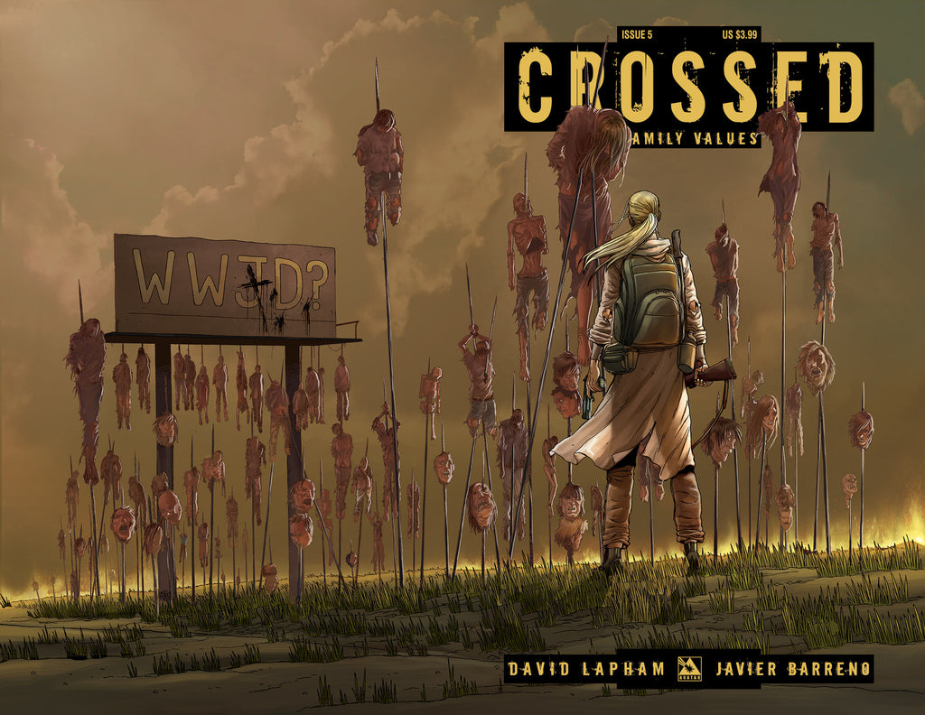 CROSSED: Family Values #5 Wraparound